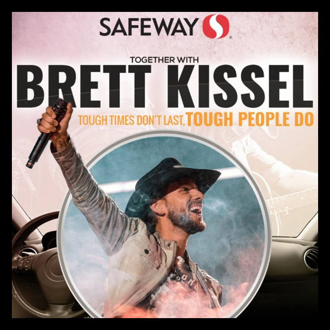 Update: Brett Kissel Sells Out 6 Drive-In Concerts! First Ever Drive-In Country Music Concert together with Safeway Canada, in support of Food Banks Alberta