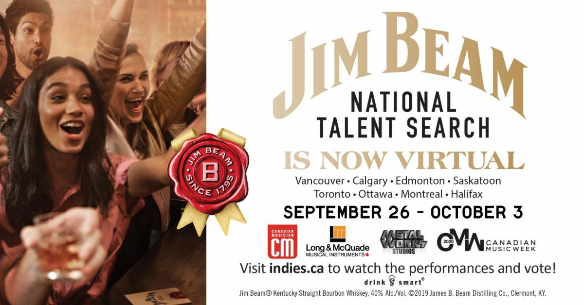 The Jim Beam National Talent Search is Now Virtual – September 26 – October 3, 2020