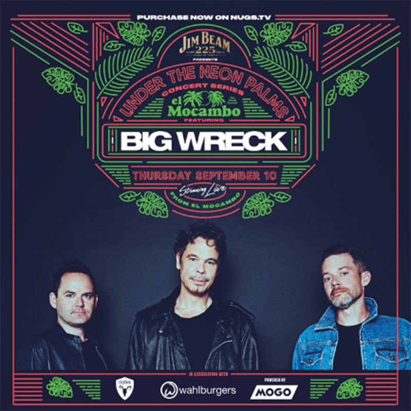 El Mocambo Finally Opens With Big Wreck Livestream Concert