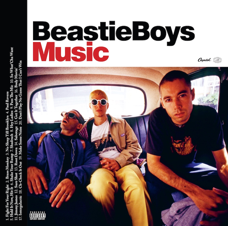 Beastie Boys Music Announced For Release On October 23