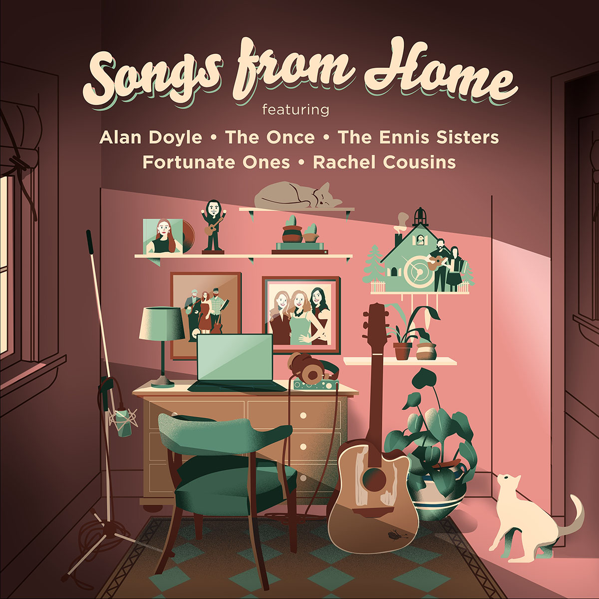 Alan Doyle Leads An All-Star Lineup Of Newfoundland Artists For New EP Songs From Home