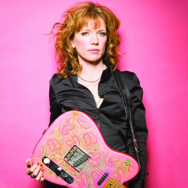 Sue Foley - Photo by Andrew MacNaughtan