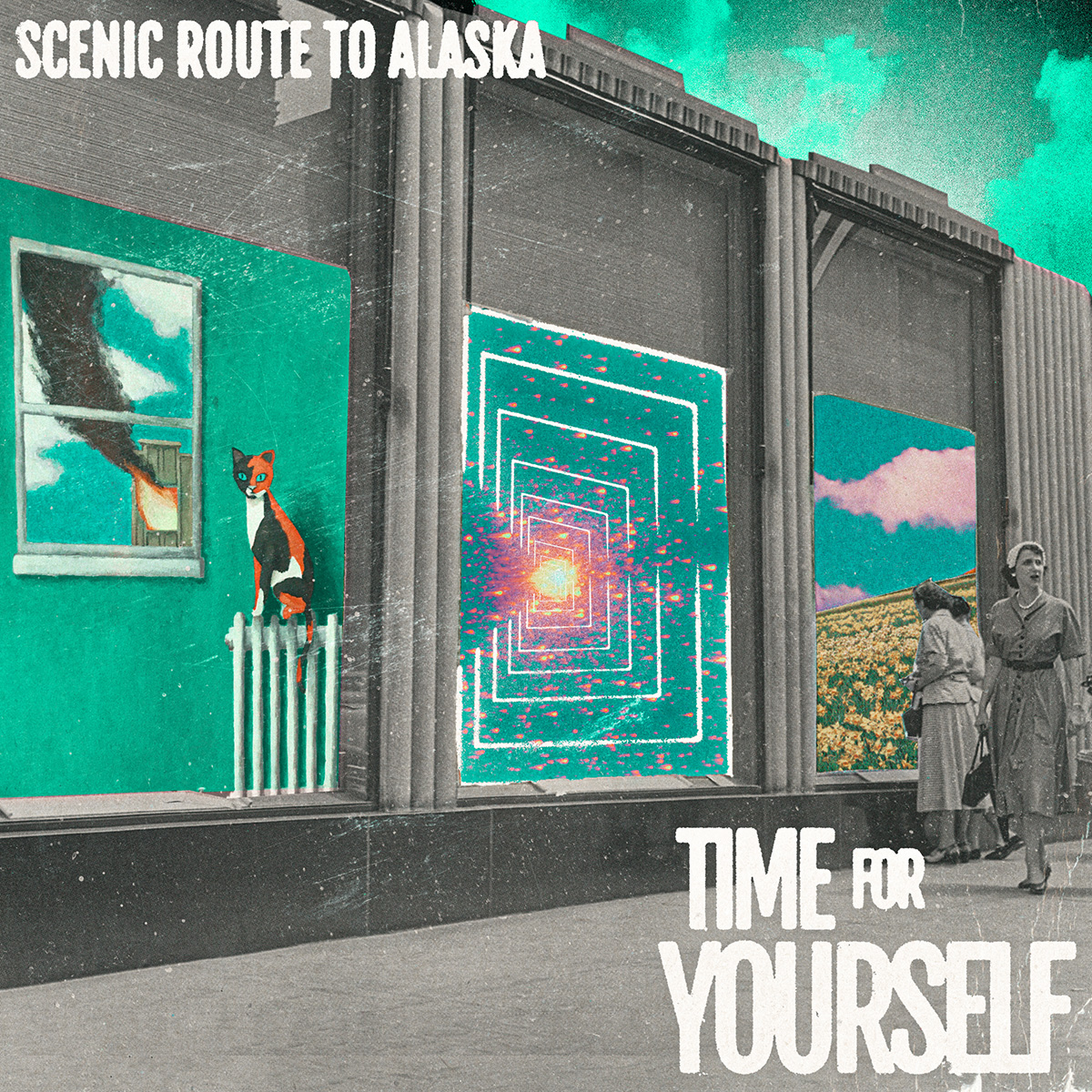 Scenic Route to Alaska - New Album Tim For Yourself. Cover Art by Sterling Larose