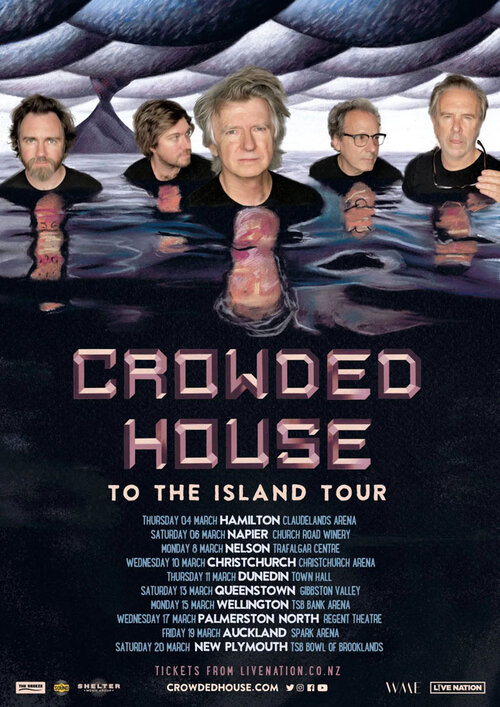 Crowded House - To The Island Tour 2021