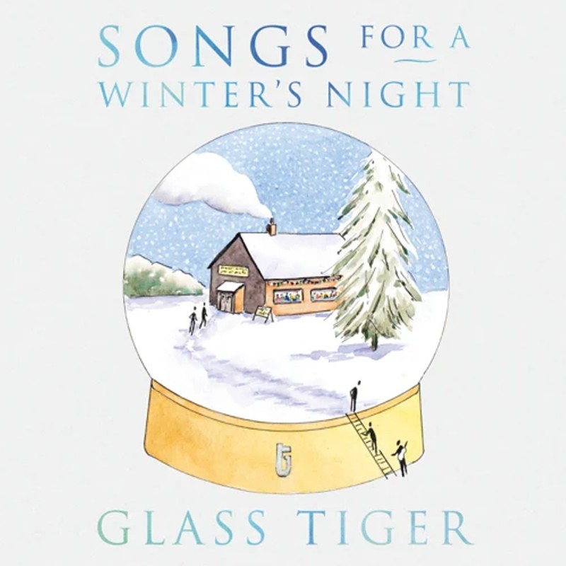 Glass Tiger Releases Holiday Album With A Pop Twist – All Original Material Features All-Star Cast