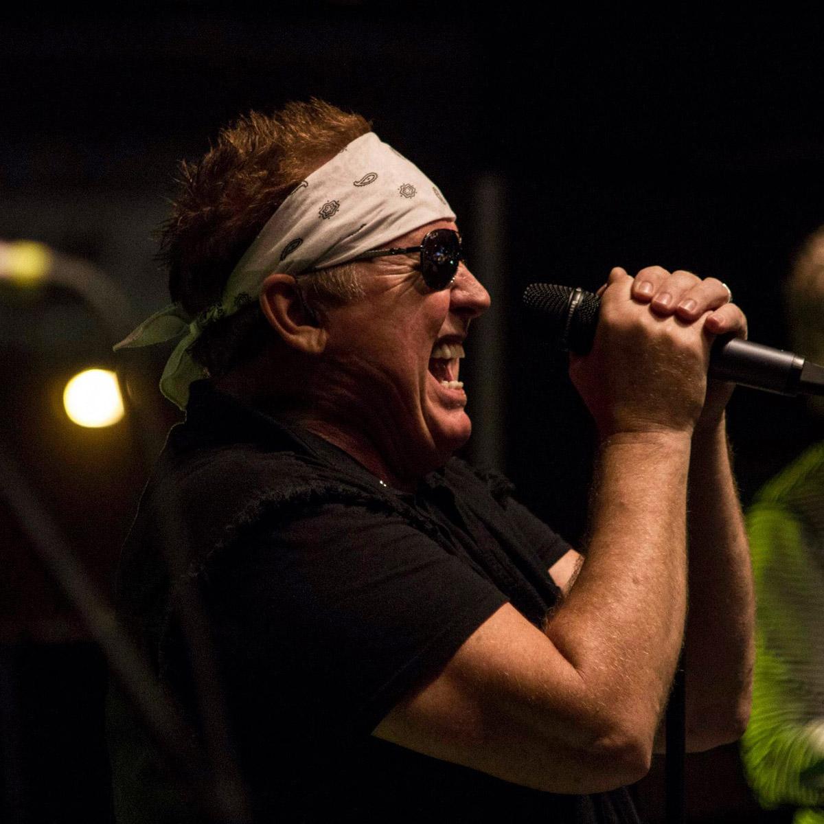 Mike Reno - Photo by Ted Van Boort