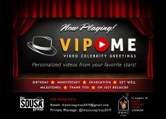 VIP ME Initiative, Ed Sousa's Latest Fund-Raising Initiative