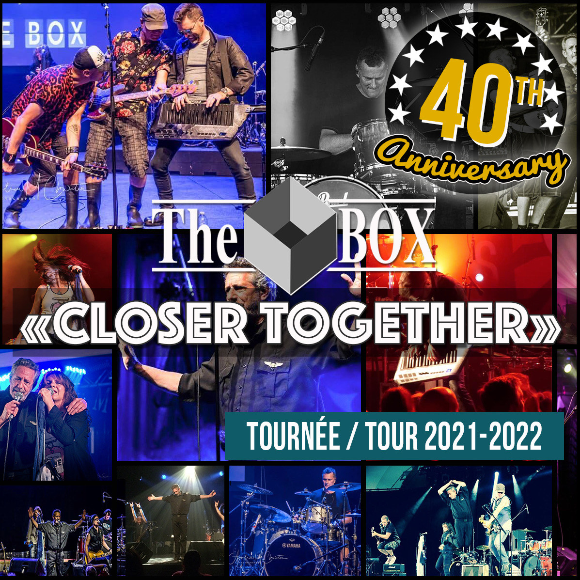 Purchase Tickets below for The Box 40th Anniversary Online Concert - Saturday, March 6th