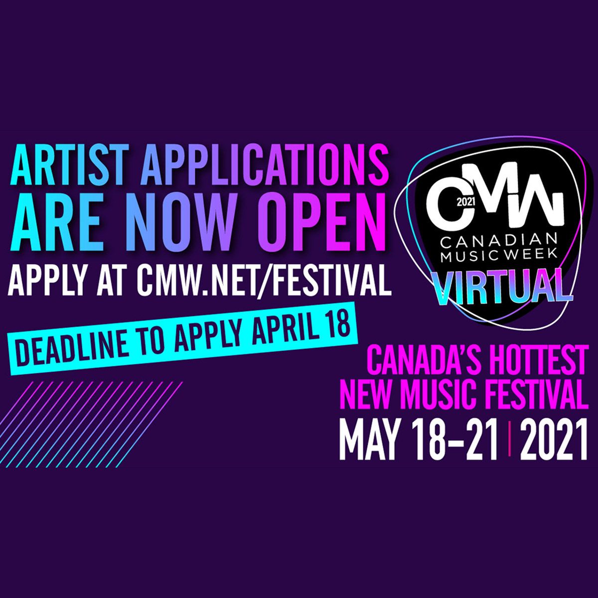 CMW Artist Application 2021