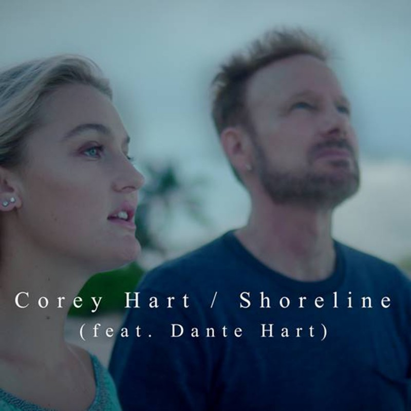 "Corey Hart Releases Timely New Single ""Shoreline"" Featuring Dante Hart"