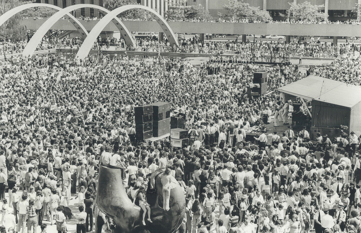 Bay City Rollers - Toronto 1976 City Hall