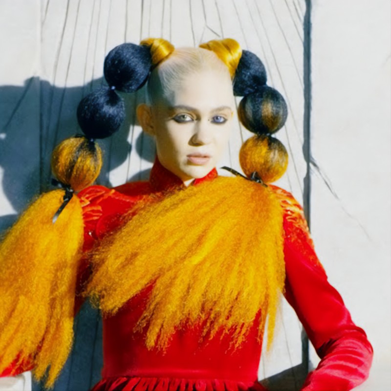 International pop star - Grimes