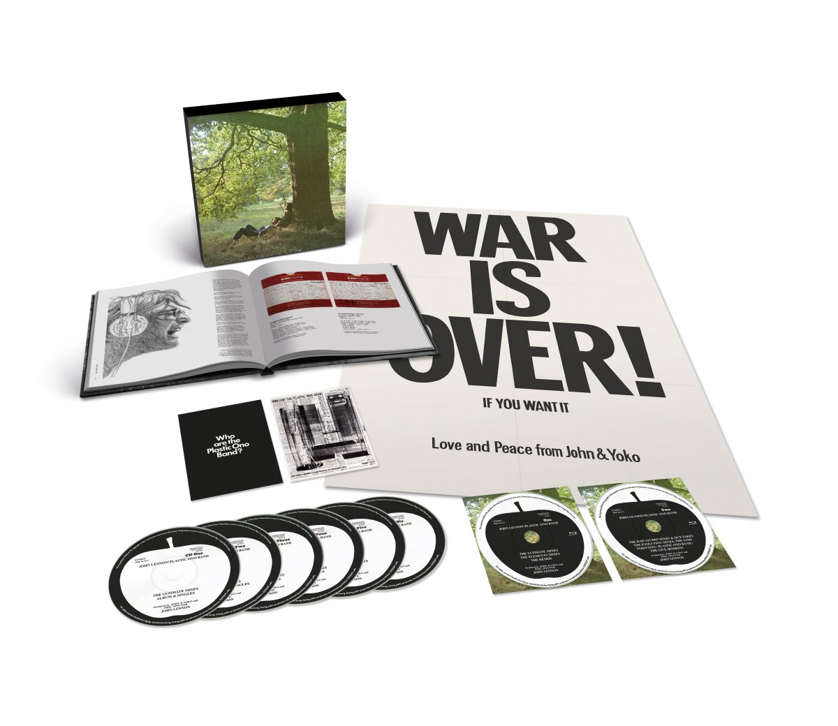 John Lennon:Plastic Ono Band – The Ultimate Collection Super Deluxe Edition