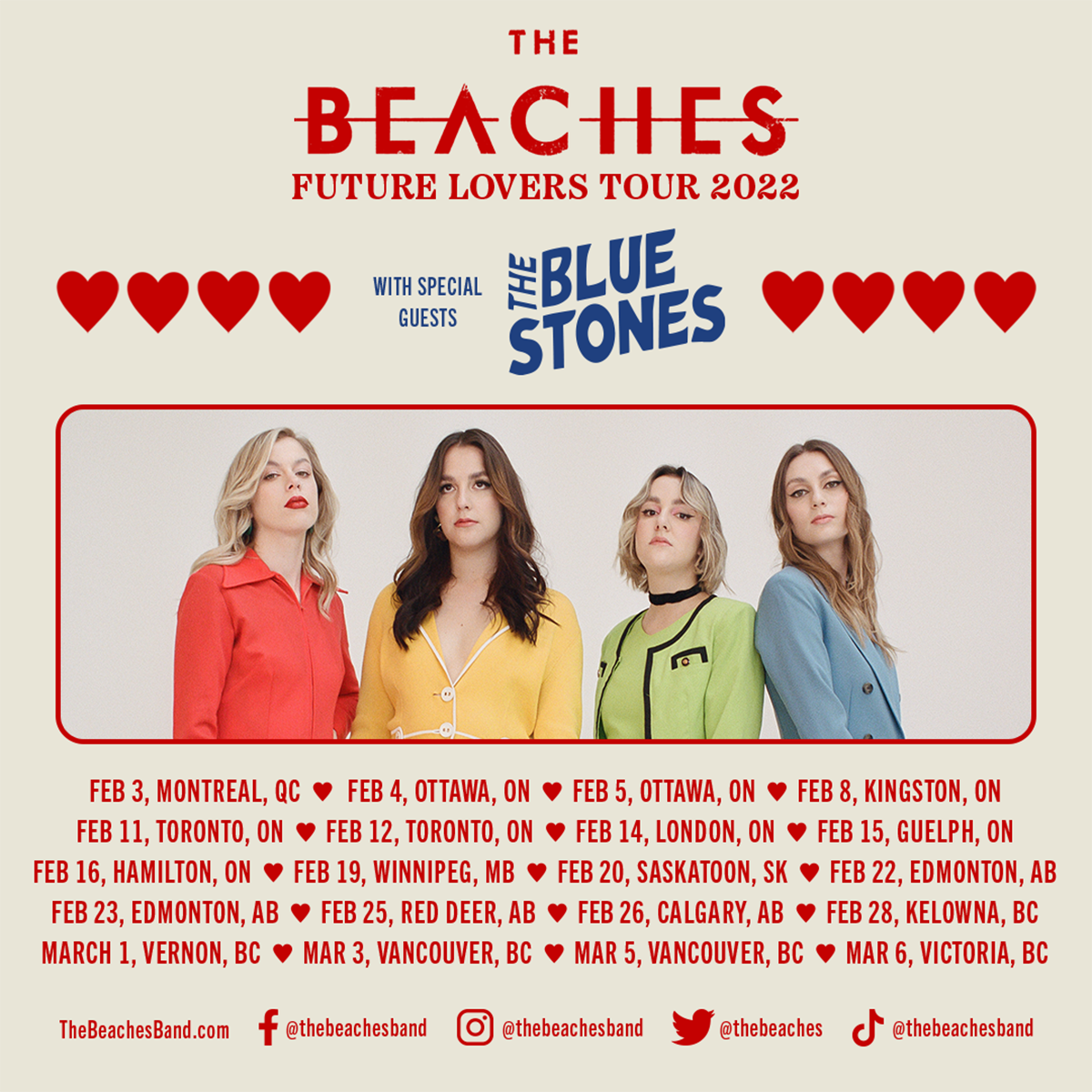 The Future Lovers Tour Poster