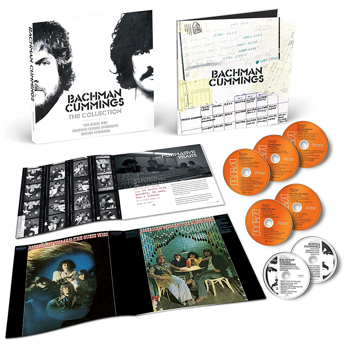 Burton Cummings Box Set Bachman Cummings- The Collection - Music Of The Guess Who, Bachman-Turner Over