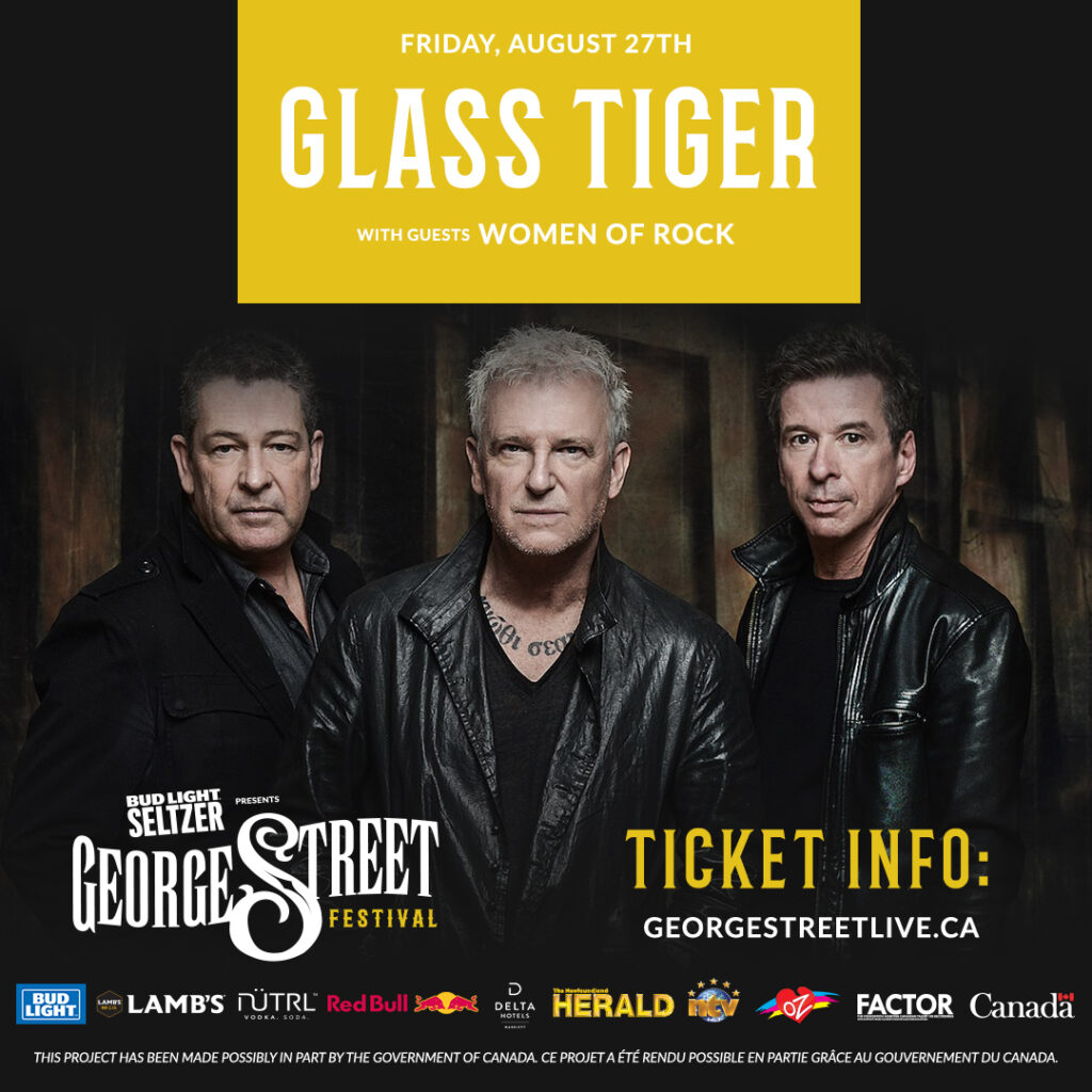 GLASS TIGER ROCKS OUT WITH WOMEN OF ROCK Friday, August 27th, 2021