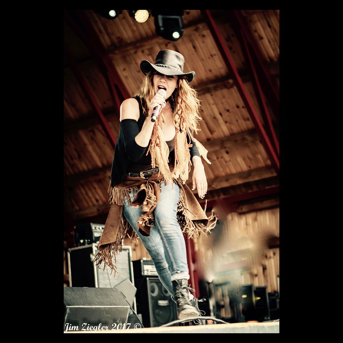 One Ugly Cowboy - Jane Lead Vocalist - Photo by Jim Ziegler