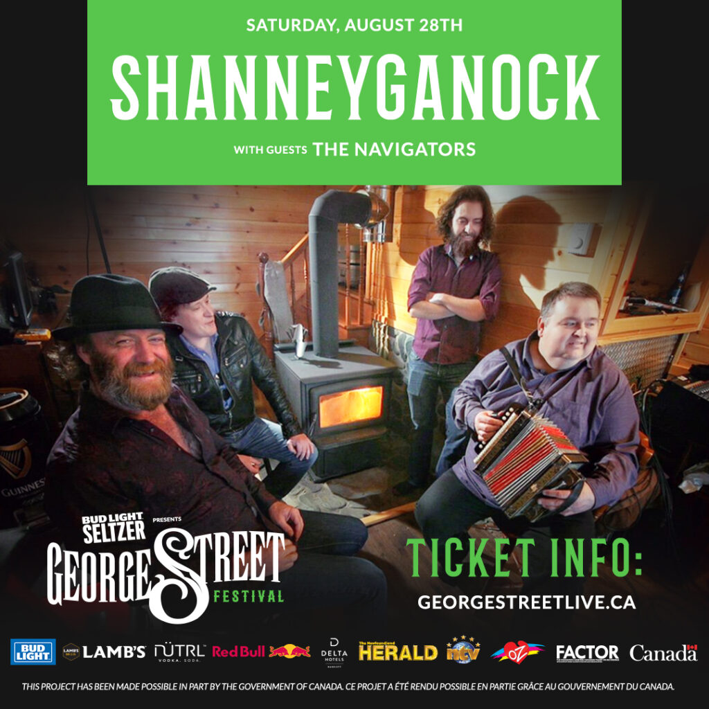 SHANNEYGANOCK GETS THE PARTY GOING WITH THE NAVIGATORS, Saturday, August 28th, 2021