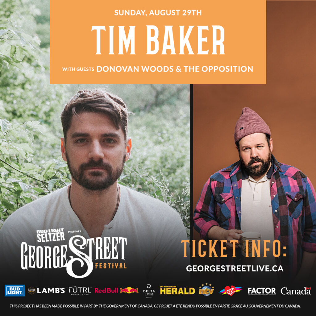 TIM BAKER GRACES THE STAGE WITH DONOVAN WOODS Sunday, Augutst 29th, 2021