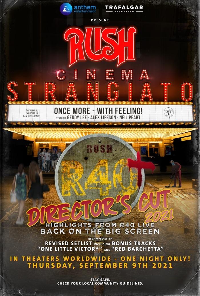 Rush: Cinema Strangiato Returns To Cinemas With Director's Cut