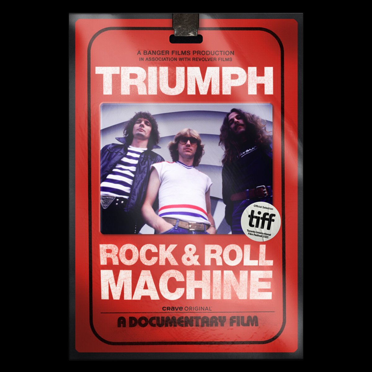 """""""Triumph: Rock & Roll Machine"""" Feature Doc Makes Its World Premiere At The Toronto International Film Festival (TIFF), Friday, September 10th"""